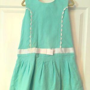 Aqua preppy dress by Tahari